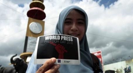 الصحفيون الإندونيسيون يحتفلون باليوم العالمي للصحافة في لامبونج
