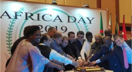 مجموعة السفراء الأفارقة في إندونيسيا تحتفل بيوم أفريقيا