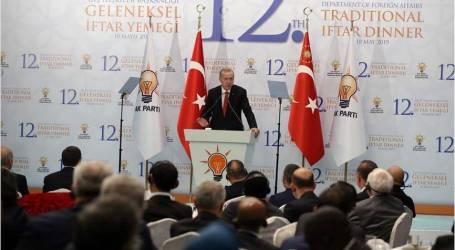 أردوغان: ندعو كافة الدول للتعامل بحساسية أكبر مع قضية فلسطين