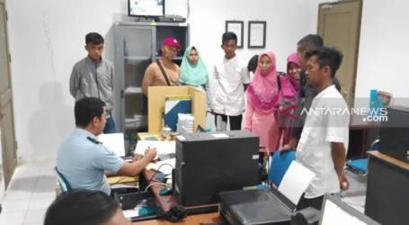 أحبط مكتب الهجرة في نونوكان رحيل العمال الإندونيسيين غير الشرعيين إلى ماليزيا