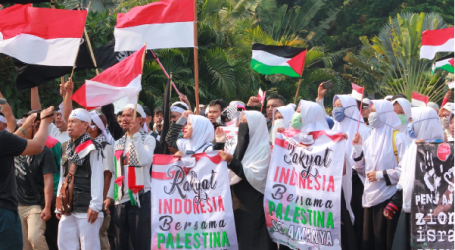 احتجاجات سلمية تضامنا مع الشعبي الفلسطيني لإنقاذ المسجد الأقصى