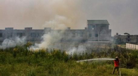 تصل النقاط الساخنة لحرائق الغابات ملوثة الهواء في رياو إلى 154