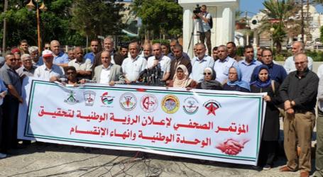 الفصائل الفلسطينية تعلن رؤيتها بشكل رسمي لإنهاء الانقسام والخطوات العملية لتنفيذها