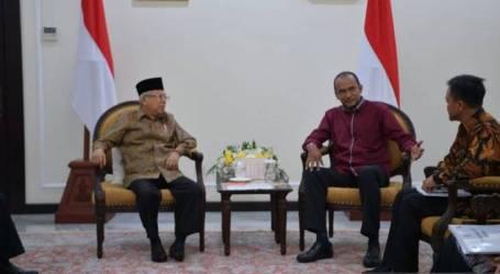 نائب الرئيس معروف أمين : مستشفى ولاية راخين الإندونيسي لتعزيز الوئام الديني