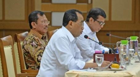ثلاثة وزراء يناقشون الوقاية من فيروس كورونا في إندونيسيا
