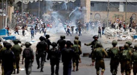 13 إصابة اثر مواجهات مع الاحتلال الاسرائيلي