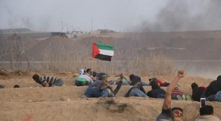 إصابة العشرات في مواجهات مع الجيش الإسرائيلي بالضفة