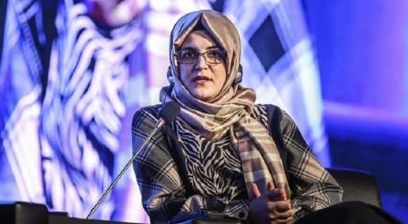 خديجة جنكيز تطالب بايدن بالكشف عن تسجيلات مقتل خاشقجي
