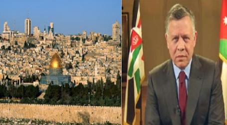 عاهل الأردن: لا نقبل أي مساومة على القدس والمقدسات