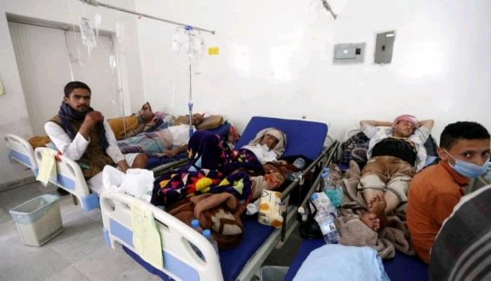 تضاعف عدد مصابي الكوليرا في اليمن هذا العام