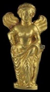 تاج ذهبي من كنوز باختيريا، الصورة: خاص: المتحف القومي الأفغاني/ متحف غويمت، تيري أوليفر