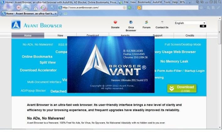 تحميل متصفح افانت Avant Browser