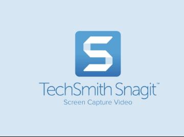 برنامج تصوير الشاشة فيديو snagit