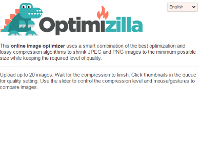 تحميل برنامج ضغط الصور Optimizilla للكمبيوتر