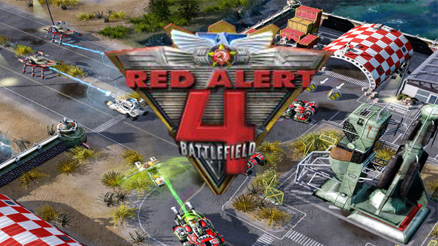 تحميل لعبة red alert 4