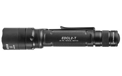 SureFire EDCL2-T Dual-Output Everyday Carry LED Flashlight 1200 Lumens