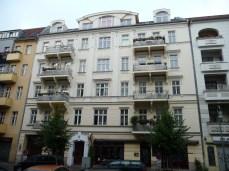 Berliner Wohnhaus mit wunderschöner Fassade