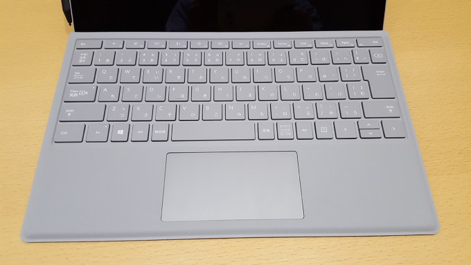 Surface Book 2、キーボード部