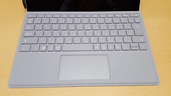 Surface Book 2、キーボード部