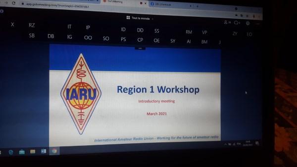 L'ARA participe aux ateliers de l'IARU R1
