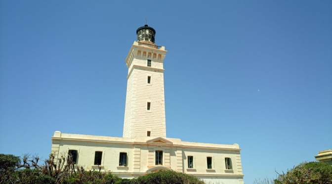 Caxine Cape Lighthouse (ARLHS ALG 008) 7V7V «07 and 08 may 2021.