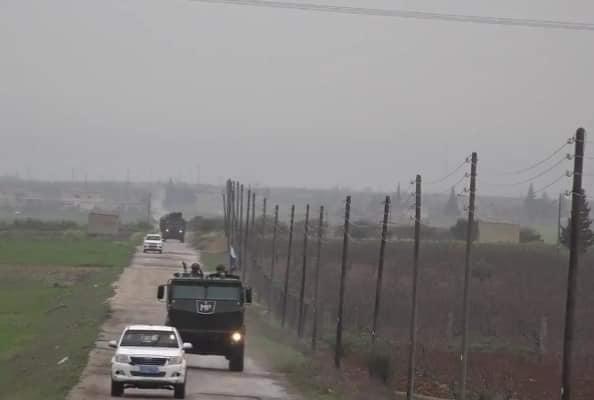 دورية روسية في كوباني