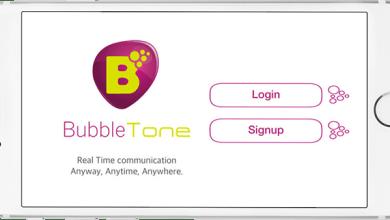 مشروع bubbletone