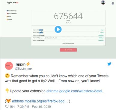 الآن بإمكانك إرسال عملات البيتكوين (BTC) عبر منصة تويتر