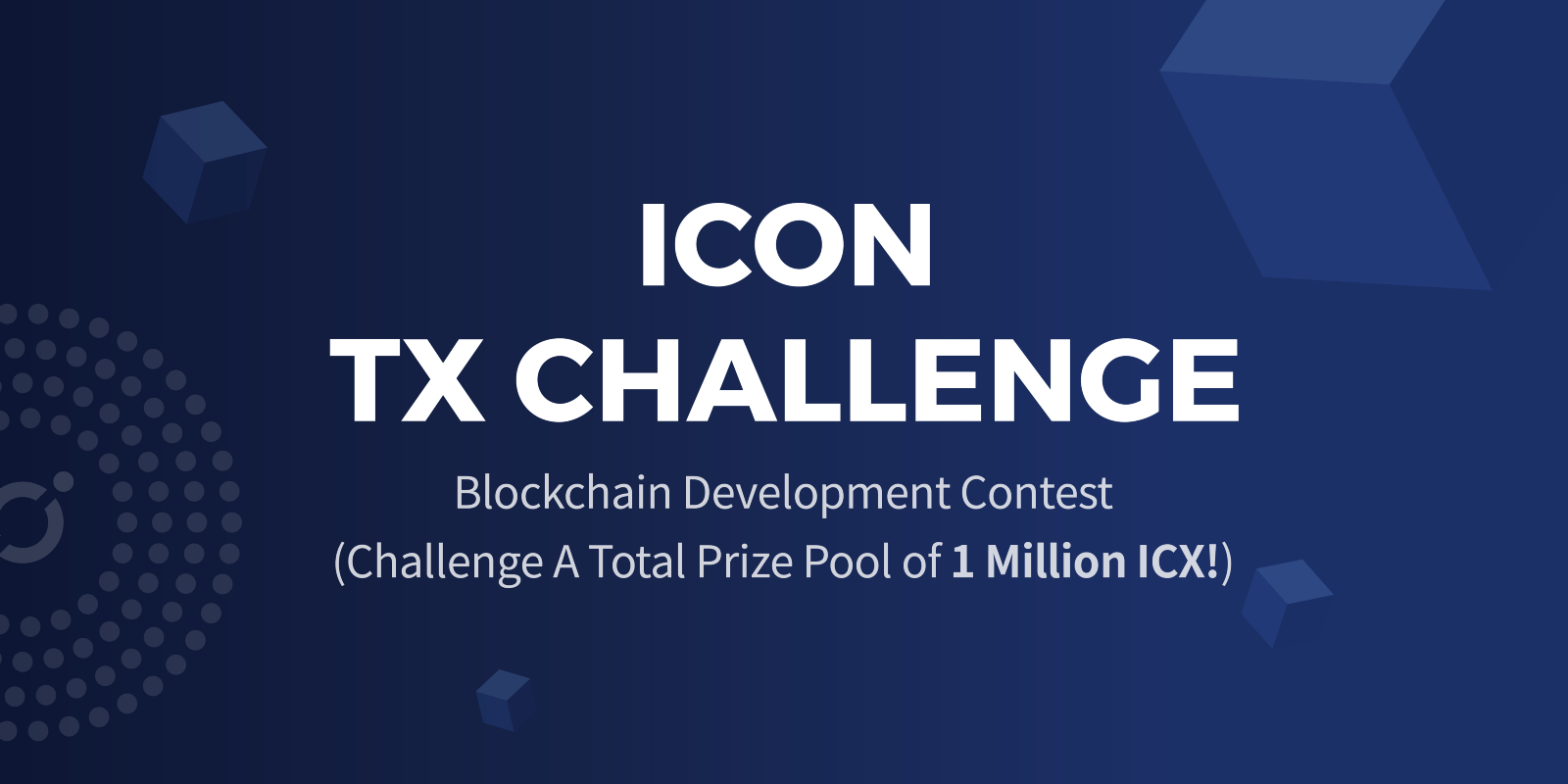مشروع ICON يعلن عن مسابقة جديدة لتوزيع مليون من عملات (ICX) الرقمية