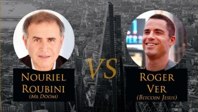 """مناظرة بين """"روجر فير"""" و """"نورييل روبيني"""""""