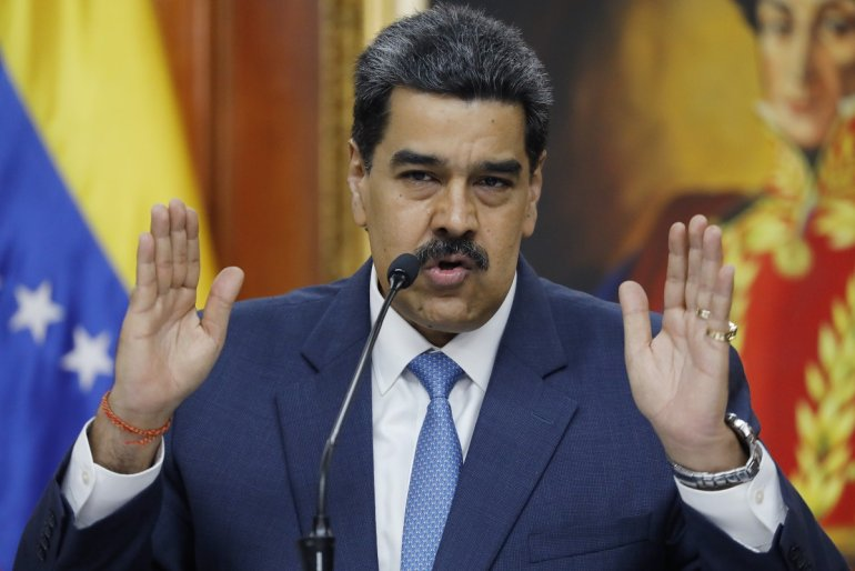 الولايات المتحدة تدين الرئيس الفنزويلي بتهم غسيل الأموال وإخفاء العملات المشفرة