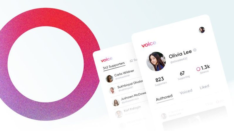إنطلاق منصة التواصل الإجتماعي Voice على بلوكشين EOS