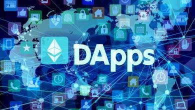 """أفضل 10 تطبيقات لامركزية """"dapps"""" على الايثيريوم تصل إلى مليون مستخدم يوميا"""