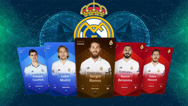 نادي ريال مدريد ينضم إلى لعبة كرة القدم الافتراضية المبنية على الايثيريوم