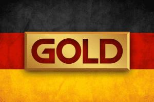 الذهب ألمانيا