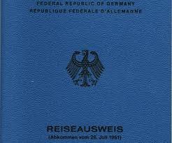 جواز السفر الأزرق