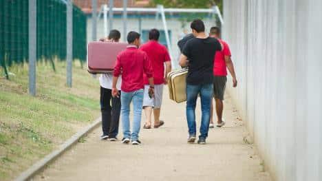 اعتداء على طالبي اللجوء