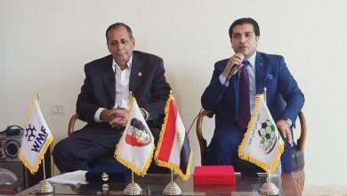 صورة رئيس الإتحاد المصري للميني يجتمع بلجان المسابقات بقطاع القناة تحضيرا للدوري