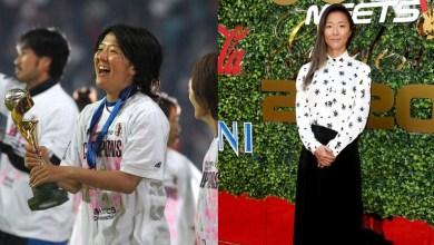 صورة لاعبة كرة قدم في اليابان تنضم لفريق الرجال