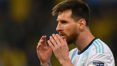 صورة ميسي ضمن قائمة الأرجنتين أمام باراجواي وبيرو في تصفيات كأس العالم