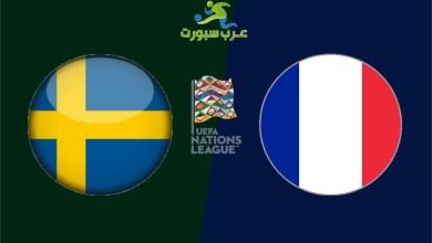 صورة استعداد السويد وفرنسا وغياب النجوم الديوك بسبب إصابتهم بالكورونا