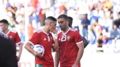 صورة هكذا علق الهداف حمد الله على غيابه من لائحة المنتخب المغربي