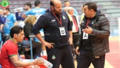 صورة المنتخب المغربي لكرة اليد يستعد بإيفران