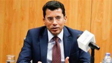 صورة وزير الرياضة : يوجه رساله لجماهير الزمالك