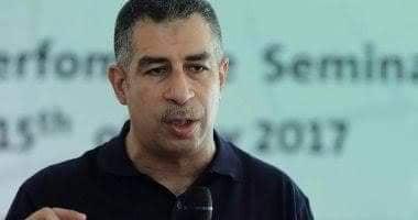 صورة شريف الشمرلى: قائمتى تضم 7مقاتلين لإنقاذ الكرة الطائرة .. وهدفي إعتلاء منصات التتويج