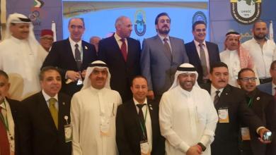 صورة إدريس الهلالي يشارك ضمن أشغال مؤتمر رؤساء الاتحادات الرياضية العربية