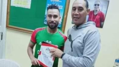 صورة سبورتنج يضم علاء ماهر لاعب وسط الترسانه موسمين