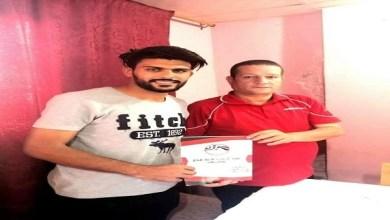 صورة خاص: المنيا يضم مدافع الزرقا محمد جدو رسميا