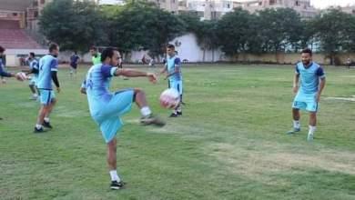 صورة جناح المنيا بدوي عاشور يوافق علي تخفيض عقده مع النادي