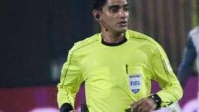 صورة بشري سارة| أختيار إبراهيم نور الدين حكم رابع في مباراة نهائي القرن الأفريقي
